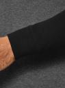 Свитшот хлопковый с контрастными рукавами oodji #SECTION_NAME# (серый), 5B114031M/48820N/2529M - вид 5
