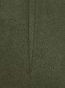 Легинсы из искусственной замши oodji #SECTION_NAME# (зеленый), 18G07099/47301/6800N - вид 5