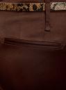 Брюки-чиносы с ремнем oodji #SECTION_NAME# (коричневый), 21703094-3/33482/3900N - вид 5