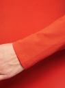 Платье трикотажное облегающего силуэта oodji #SECTION_NAME# (красный), 14001183B/46148/4500N - вид 5