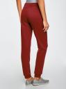 Комплект трикотажных брюк (2 пары) oodji #SECTION_NAME# (разноцветный), 16700030-15T2/47906/19IYN - вид 3