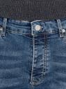 Джинсы базовые slim oodji для мужчины (синий), 6B120039M-4/50618/7500W