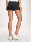 Комплект из двух трикотажных шорт oodji #SECTION_NAME# (черный), 17001029T2/46155/2900N - вид 3
