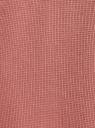 Брюки домашние на завязках oodji #SECTION_NAME# (розовый), 59807063/48828N/4B00N - вид 5