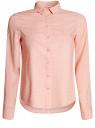 Блузка базовая из вискозы oodji для женщины (розовый), 11411136B/26346/4B12D