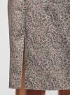 Юбка прямого силуэта базовая oodji #SECTION_NAME# (серый), 21608006-3B/14522/2340E - вид 5