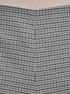Шорты-трапеция на молнии сбоку oodji #SECTION_NAME# (серый), 11800030-3/46284/1229C - вид 4