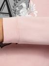 Пижама хлопковая с брюками oodji #SECTION_NAME# (розовый), 56002224/46154/4023P - вид 5