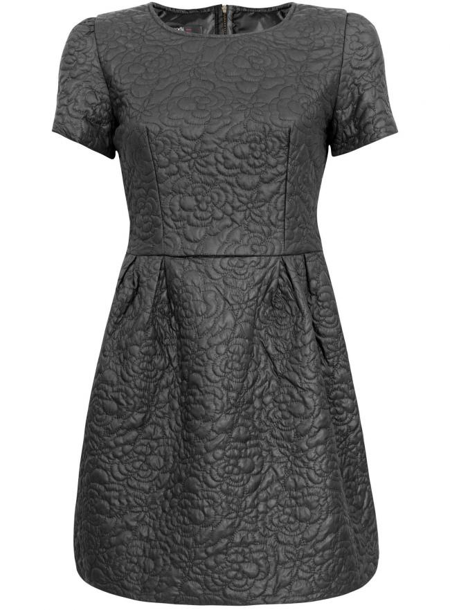 Платье oodji для женщины (черный), 11900170M/45422/2900N
