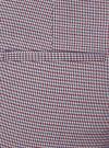 Шорты-трапеция на молнии сбоку oodji #SECTION_NAME# (красный), 11800030-3/46284/4975C - вид 5