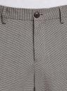 Брюки классические со стрелками oodji #SECTION_NAME# (серый), 2L210281M/49802N/2512C - вид 4