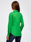 Рубашка базовая с нагрудными карманами oodji #SECTION_NAME# (зеленый), 11403222B/42468/6A00N - вид 3