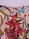 Шорты принтованные из хлопка oodji #SECTION_NAME# (розовый), 17000025/48434/4019F - вид 4
