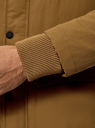 Парка с капюшоном и накладными карманами oodji #SECTION_NAME# (бежевый), 1L422006M/46215N/3529N - вид 5