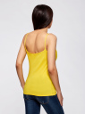 Майка женская (упаковка 2 шт) oodji #SECTION_NAME# (желтый), 14305023T2/46147/5100N - вид 3