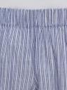 Шорты домашние из хлопка oodji для женщины (синий), 59807061/49806/7510S