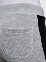 Брюки спортивные с лампасами oodji #SECTION_NAME# (серый), 16700058/47883/2000Z - вид 5