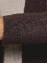 Кардиган вязаный удлиненный oodji #SECTION_NAME# (коричневый), 63207191/45921/3912M - вид 5
