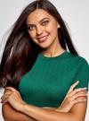 Платье облегающего силуэта на молнии oodji #SECTION_NAME# (зеленый), 14011025/42588/6E00N - вид 4