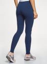 Легинсы базовые oodji для женщины (синий), 18700028-7B/46159/7502N