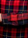 Блузка принтованная из вискозы oodji #SECTION_NAME# (красный), 11411098/45208/4579C - вид 5