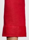 Блузка льняная с карманами oodji #SECTION_NAME# (красный), 21412145/42532/4500N - вид 5