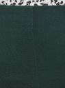Брюки зауженные с молнией на боку oodji #SECTION_NAME# (зеленый), 21700199-2B/31291/6C00N - вид 4