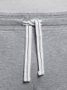 Брюки трикотажные базовые oodji #SECTION_NAME# (серый), 5B230001M/48944N/2309M - вид 4