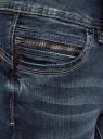 Джинсы skinny пуш-ап oodji для женщины (синий), 12103121-1/43322/7900W