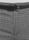 Брюки базовые с ремнем oodji #SECTION_NAME# (серый), 11701029-2B/22124/2012C - вид 4