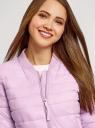 Куртка-бомбер на молнии oodji #SECTION_NAME# (фиолетовый), 10203061-1B/33445/8001N - вид 4