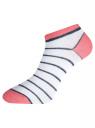 Комплект укороченных носков (6 пар) oodji #SECTION_NAME# (разноцветный), 57102433T6/47469/50 - вид 3