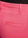 Шорты базовые с отворотами oodji #SECTION_NAME# (розовый), 11806020B/32887/4D00N - вид 5