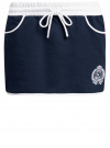 Юбка трикотажная в спортивном стиле oodji #SECTION_NAME# (синий), 16801025-5/43042/7910P - вид 6