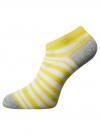 Носки укороченные (комплект из 6 пар) oodji для женщины (разноцветный), 57102462T6/47213/19BFG - вид 4