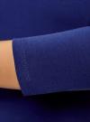 Платье облегающее с вырезом-лодочкой oodji #SECTION_NAME# (синий), 14017001-6B/47420/7500N - вид 5