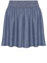 Юбка из лиоцелла с широким поясом oodji для женщины (синий), 11510003/45490/7900W