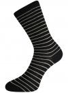 Комплект высоких носков (3 пары) oodji для женщины (разноцветный), 57102902T3/47613/26 - вид 4