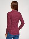 Рубашка базовая с нагрудными карманами oodji #SECTION_NAME# (красный), 11403222B/42468/4910G - вид 3