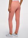 Комплект спортивных брюк (2 пары) oodji #SECTION_NAME# (разноцветный), 16701010T2/46980/5 - вид 3