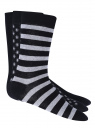 Носки высокие (комплект из 3 пар) oodji #SECTION_NAME# (черный), 7O230040M/16859N/2923G - вид 2
