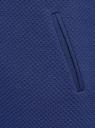 Платье трикотажное с рукавом 3/4 oodji #SECTION_NAME# (синий), 24001100-2/42408/7500N - вид 5