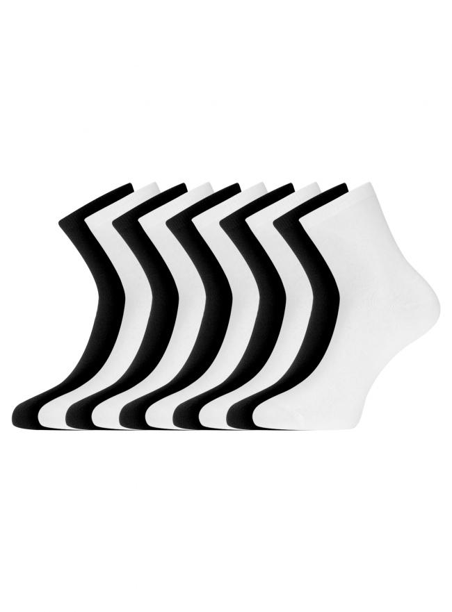 Комплект из десяти пар носков oodji для женщины (разноцветный), 57102466T10/47469/19J0N