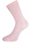Комплект высоких носков (3 пары) oodji для женщины (разноцветный), 57102902T3/47613/28