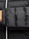 Куртка-бомбер на молнии oodji #SECTION_NAME# (черный), 10203061-1B/33445/2900N - вид 5