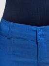 Брюки стретч узкие oodji для женщины (синий), 11700212B/14007/7500N