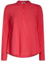 Блузка вискозная А-образного силуэта oodji #SECTION_NAME# (розовый), 21411113B/26346/4D00N