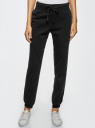 Комплект трикотажных брюк (2 пары) oodji #SECTION_NAME# (разноцветный), 16700030-15T2/47906/19JAN - вид 2