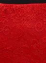 Юбка миди кружевная oodji для женщины (красный), 14101097/47365/4500N