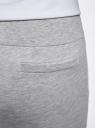 Брюки трикотажные спортивные oodji #SECTION_NAME# (серый), 16701010-3/46980/2000M - вид 5